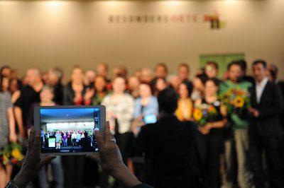Abschlussrunde beim grünen BAG Konvent (Foto: Jochen Detscher)